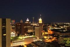 Downtown San Antonio at Sunset